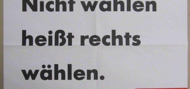 Aus dem Archiv – SPD-Wahlplakat zur Europawahl 1989