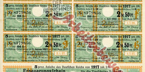 Aus dem Archiv – Erster Weltkrieg