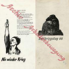Aus dem Archiv – Antikriegstag 1966