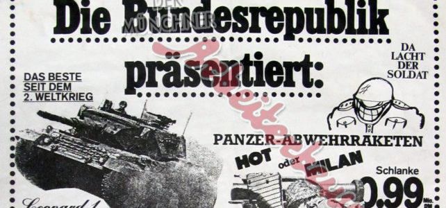 Aus dem Archiv – Protest gegen Rüstungsproduktion