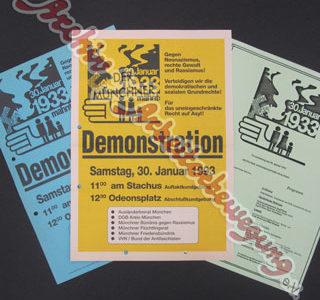 """Aus dem Archiv – Gedenken an """"NS-Machtergreifung"""" 1933"""
