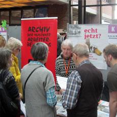 Münchner Freiwilligenmesse: Besucher zeigen großes Interesse an ehrenamtlichen Mitarbeit in unserem Archiv