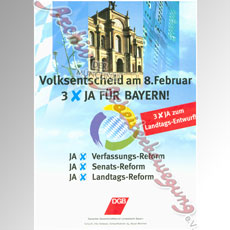 Aus dem Archiv – Volksentscheid zum Bayerischen Senat am 8. Februar 1998