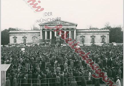 Aus dem Archiv – DGB-Maikundgebung in München