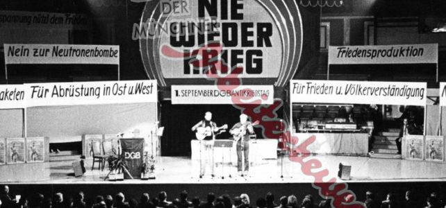 Aus dem Archiv – Antikriegstag 1980