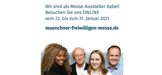Münchner FreiwilligenMesse 2021: Wir sind dabei!