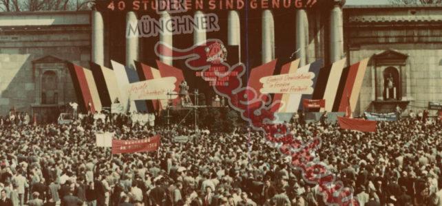 Aus dem Archiv – Tag der Arbeit in München